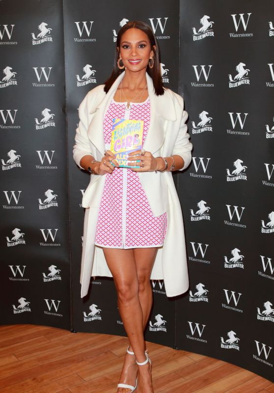 "Alesha Dixon - ""Lightning Girl"" Book Signing in Dartford"