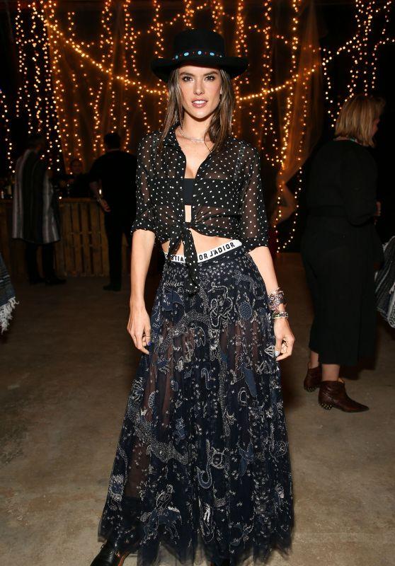 Alessandra Ambrosio – Dior Sauvage Party in Pioneertown