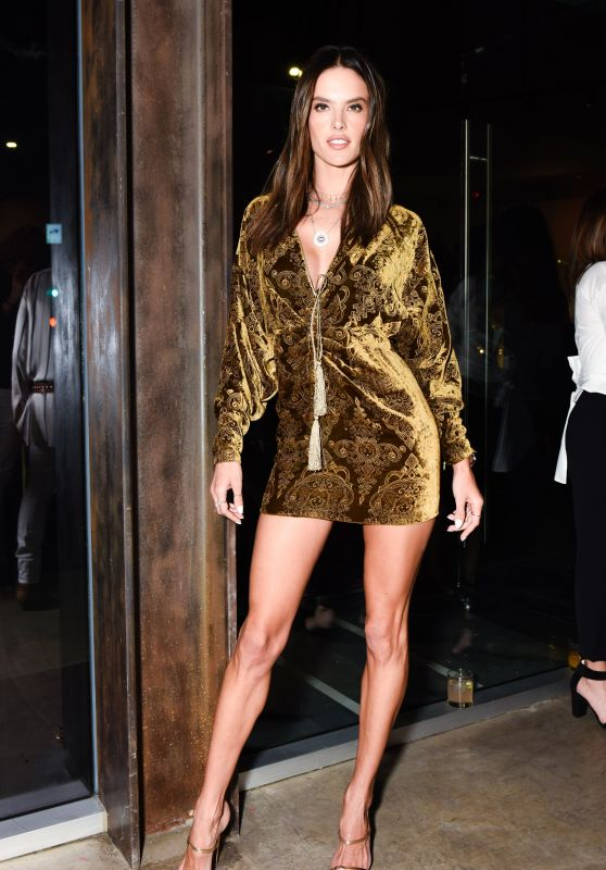 Alessandra Ambrosio – DUNDAS Traveling Flagship Cocktail Party in LA
