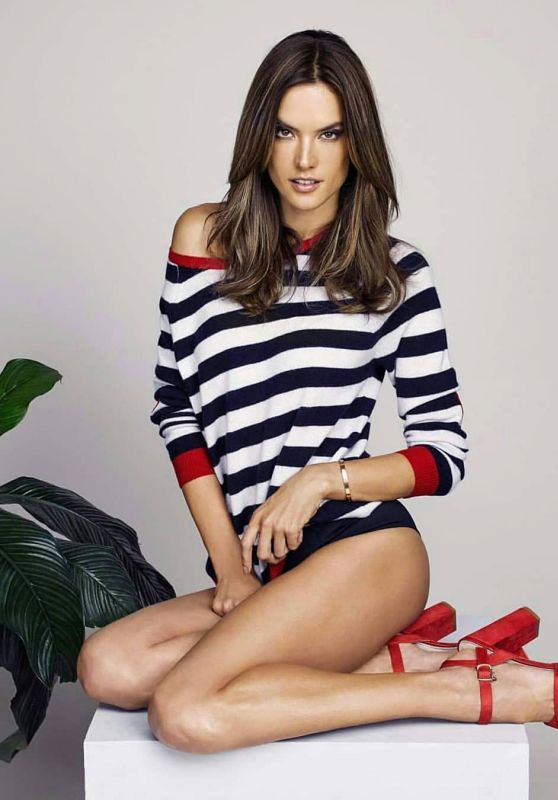 Alessandra Ambrosio - XTI Shoes Photoshoot