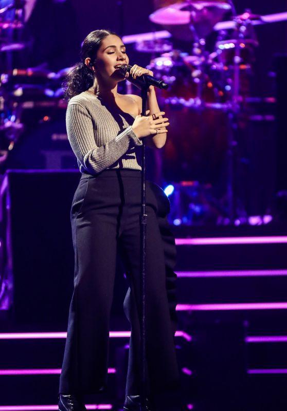 "Alessia Cara – ""Elton John: I'm Still Standing – A Grammy Salute"" Concert in New York 03/30/2018"