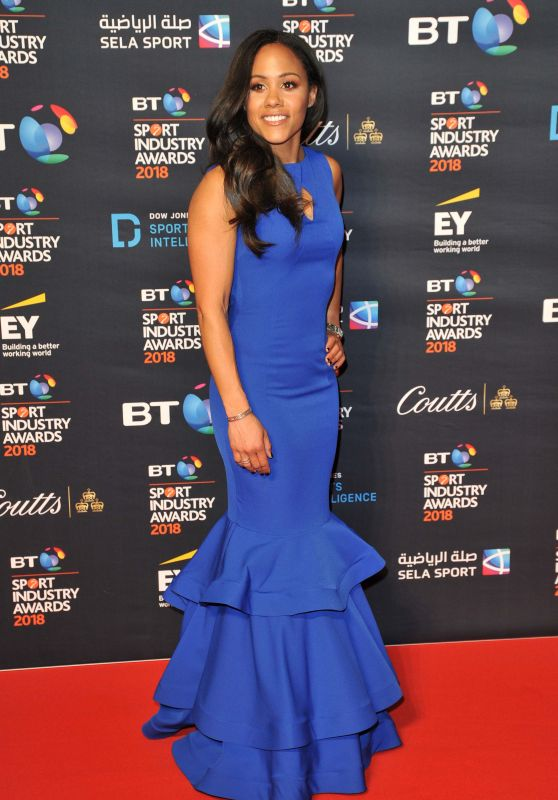 Alex Scott - BT Sport Industry Awards 2018