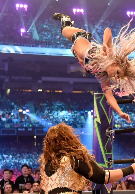 Alexa Bliss - WWE WrestleMania 34 in New Orleans