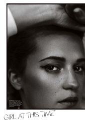 Alicia Vikander - Elle Magazine Australia, May 2018
