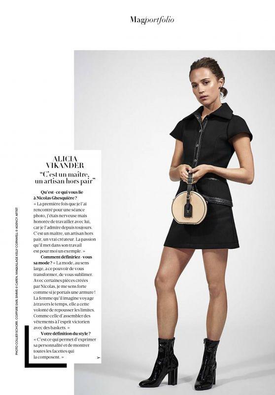 Alicia Vikander - Madame Figaro April 2018