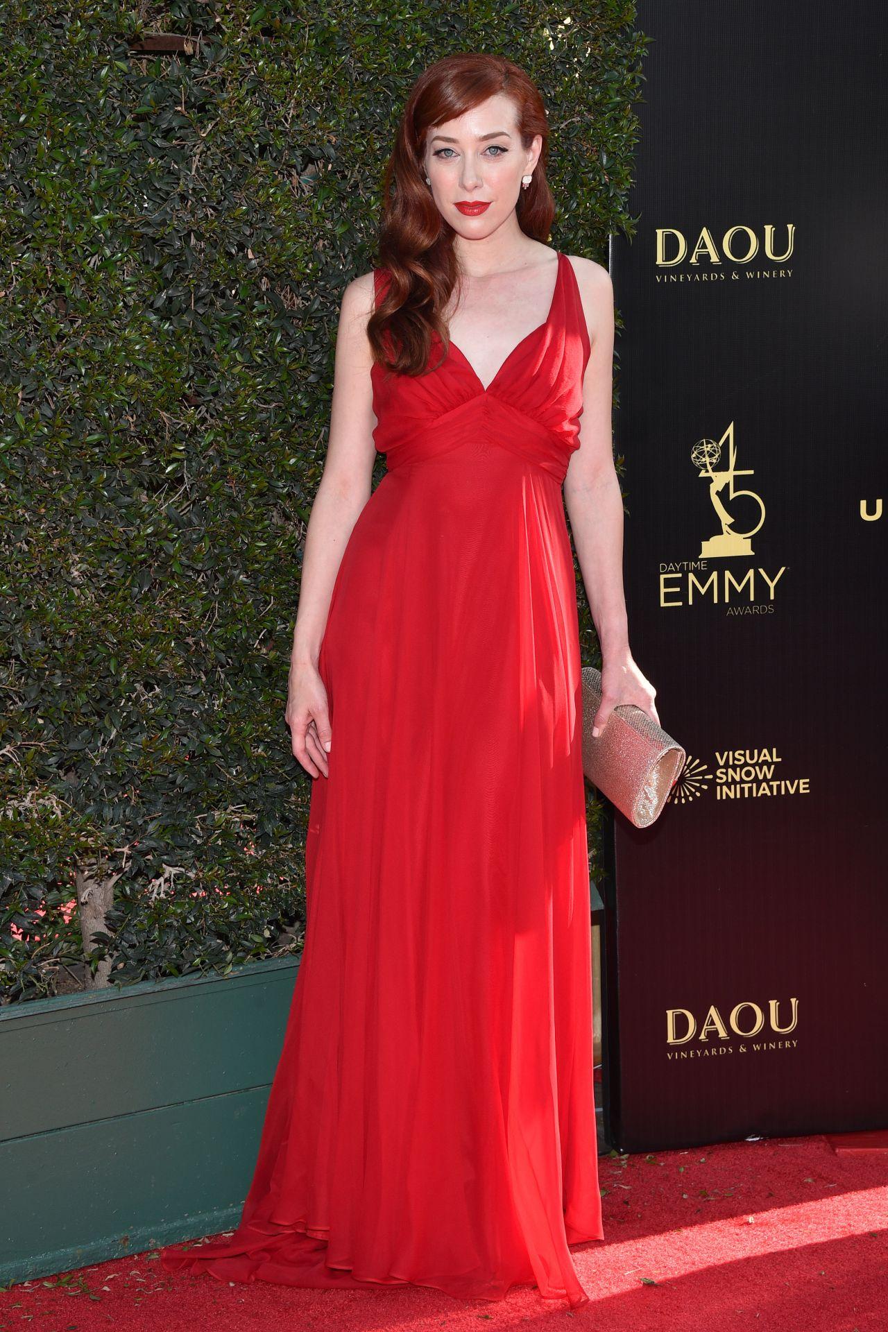 Alie Ward – 2018 Daytime Creative Arts Emmy Awards in LA Emmy Awards 2018