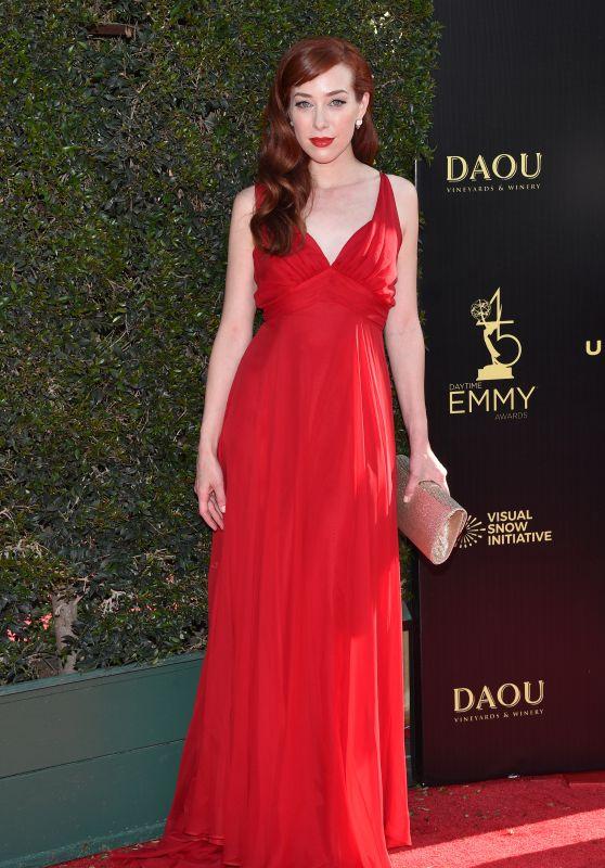 Alie Ward – 2018 Daytime Creative Arts Emmy Awards in LA