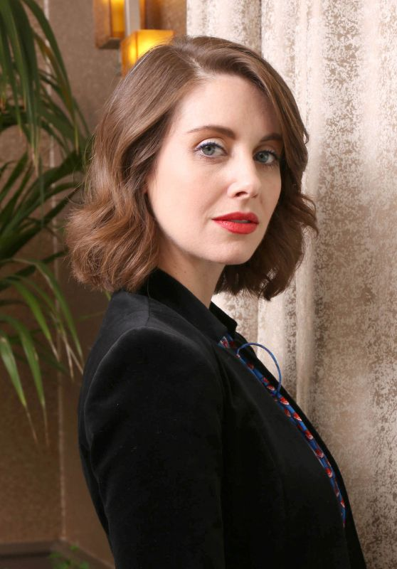 """Alison Brie - """"Glow"""" Press Conference in Los Angeles"""