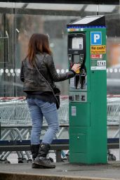 Alison King Urban Street Style - Out in Wilmslow, Cheshire 04/02/2018