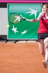 Alison Van Uytvanck – Federation Cup, Women's Semi-Final in Genova 04/22/2018