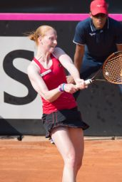 Alison Van Uytvanck – Federation Cup, Women's Semi-Final in Genova 04/22/2018