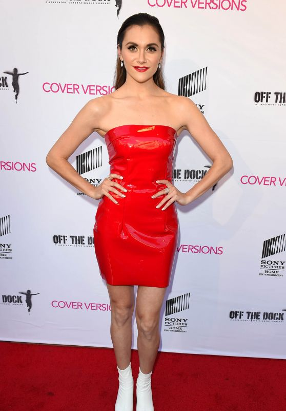 "Alyson Stoner - ""Cover Versions"" Premiere in Los Angeles"
