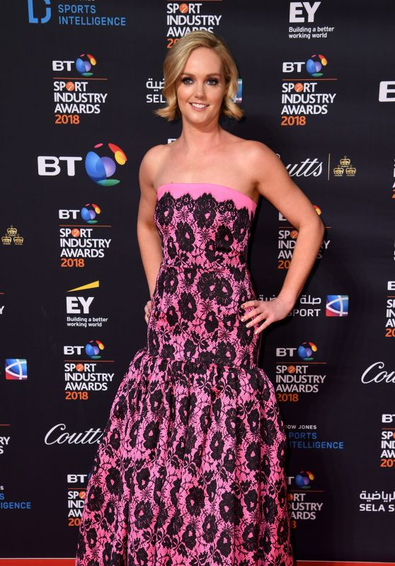 Amanda Davies - BT Sport Industry Awards 2018
