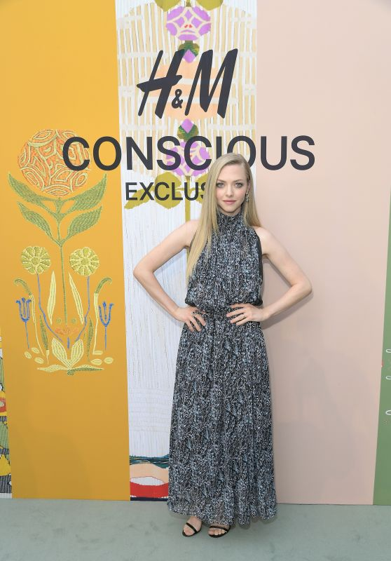 Amanda Seyfried - H&M Celebration of 2018 Conscious Exclusive Collection in LA