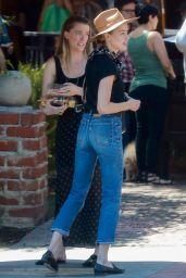Amber Heard Booty in Jeans - Lunch in Los Feliz 04/14/2018