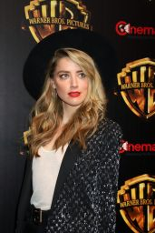 """Amber Heard – """"The Big Picture"""" at CinemaCon 2018 in Las Vegas"""