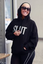 Amber Rose - Leaving a Skin Care Office in Beverly Hills 04/24/2018