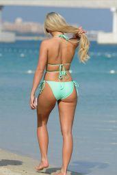 Amber Turner in Bikini in Dubai 04/13/2018