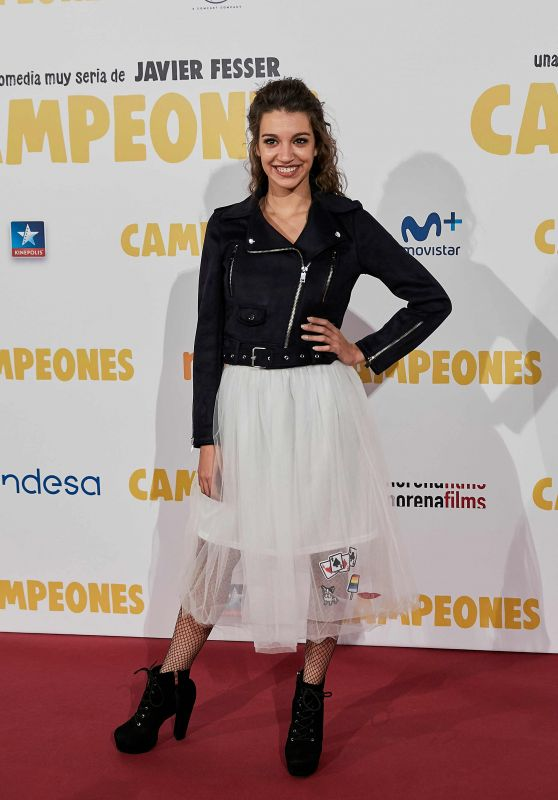 "Ana Guerra – ""Campeones"" Premiere in Madrid"
