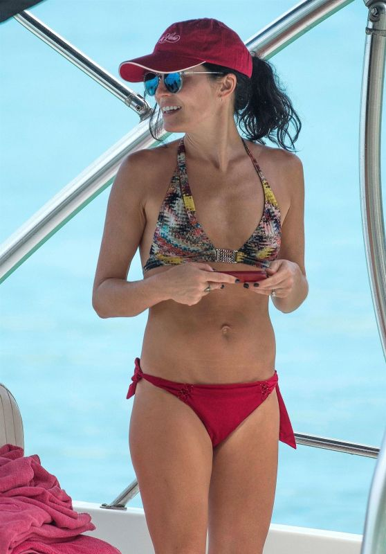 Andrea Corr in Bikini on the Beach in Barbados 04/04/2018