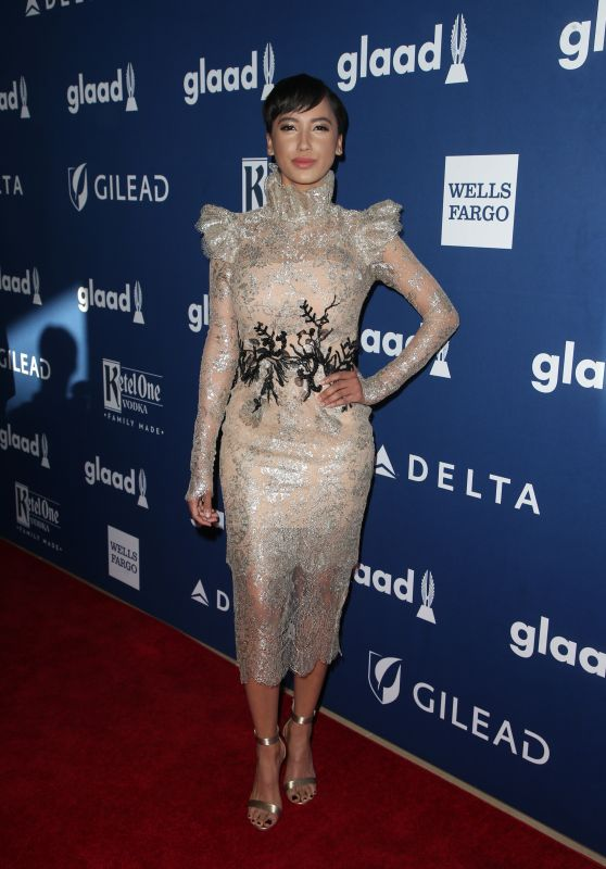 Andy Allo – 2018 GLAAD Media Awards in LA