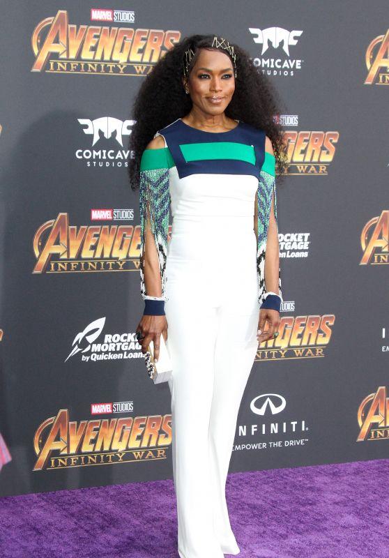 """Angela Bassett – """"Avengers: Infinity War"""" Premiere in LA"""