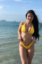 Angie Varona in Bikini - Social Media, April 2018