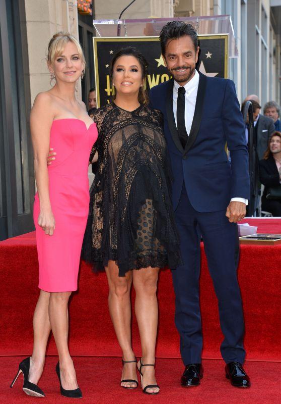 Anna Faris – Eva Longoria Hollywood Walk of Fame in LA