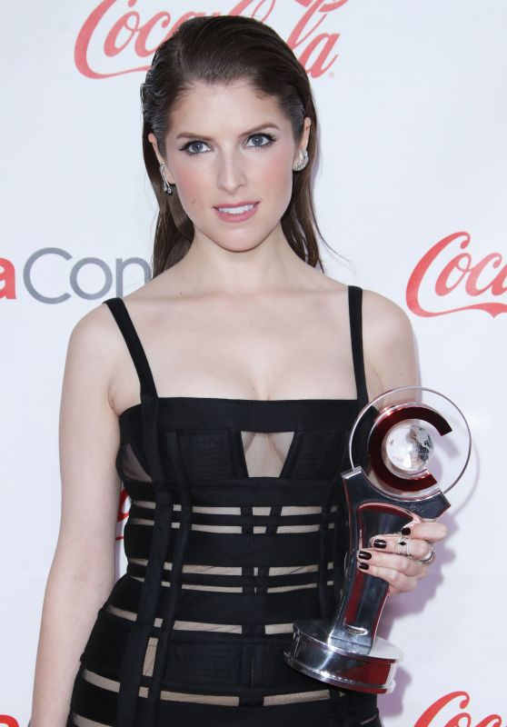 Anna Kendrick – Big Screen Achievement Awards at CinemaCon 2018 in Las Vegas