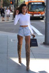 Anna Litva - Shopping at Barneys New York in Beverly Hills 04/24/2018
