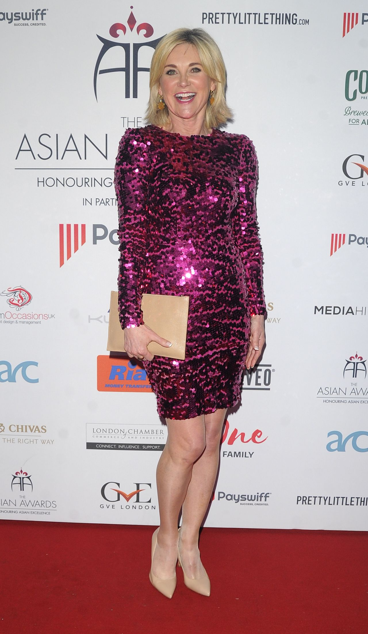 Anthea Turner 2018 Asian Awards In London