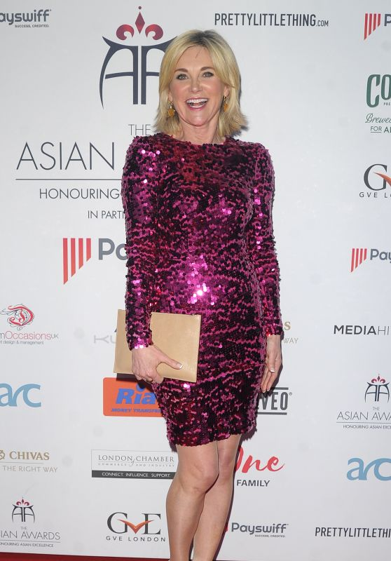 Anthea Turner - 2018 Asian Awards in London