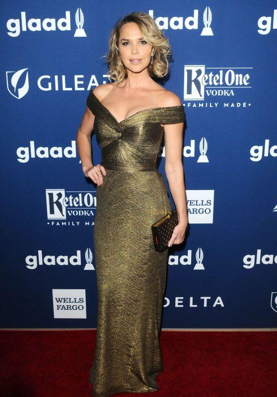 Arielle Kebbel – 2018 GLAAD Media Awards in LA