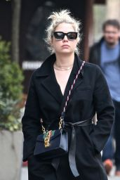 Ashley Benson in Casual Outfit - NYC 04/12/2018
