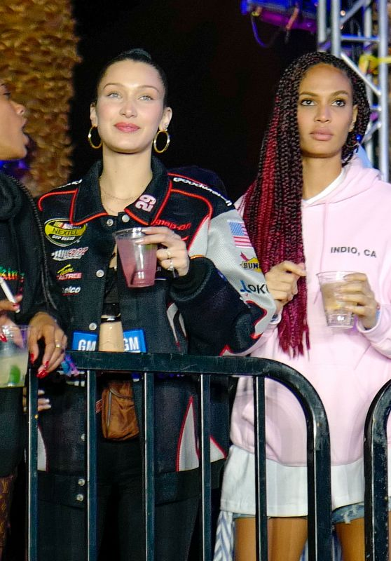 Bella Hadid and Joan Smalls - Kylie & Kourtney
