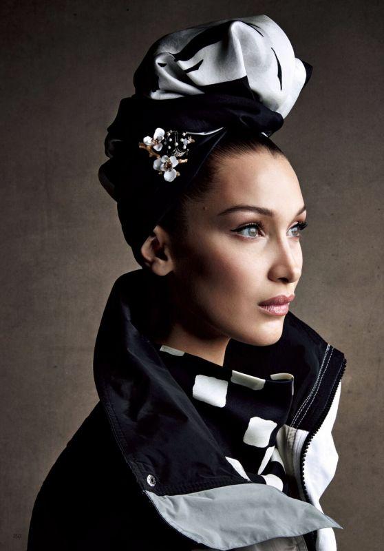 Bella Hadid - Photoshoot for Vogue Japan, May 2018