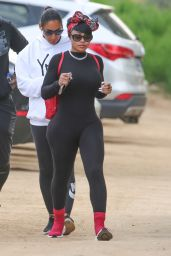 Blac Chyna - Hike With Her Friends at Runyon Canyon in Los Angeles 03/31/2018