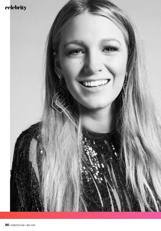 Blake Lively - Cosmopolitan Magazine Australia, May 2018