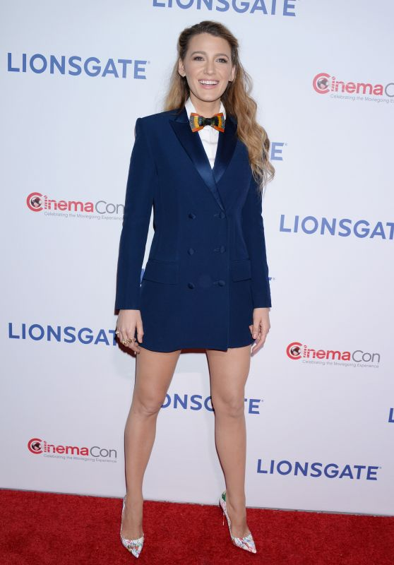 Blake Lively – Lionsgate Presentation at CinemaCon 2018 in Las Vegas