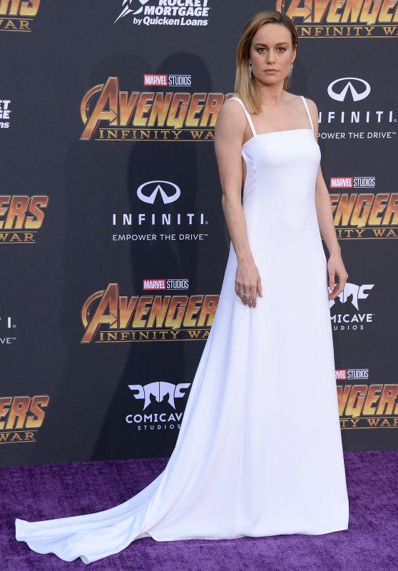 """Brie Larson – """"Avengers: Infinity War"""" Premiere in LA"""