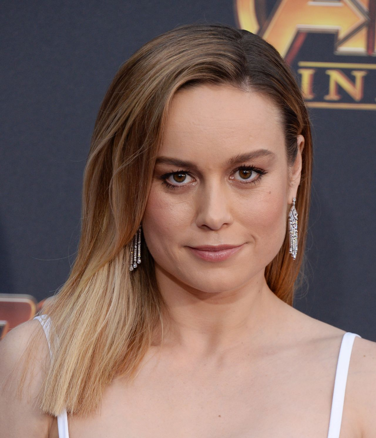 Brie Larson Avengers Infinity War Premiere In La
