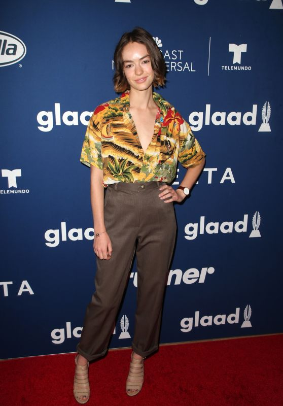 Brigette Lundy-Paine – 2018 GLAAD Media Awards in LA