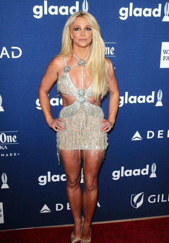 Britney Spears – 2018 GLAAD Media Awards in LA бритни спирс 2019
