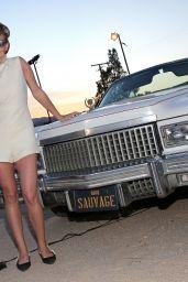 Britt Robertson - Dior Sauvage Party in Pioneertown