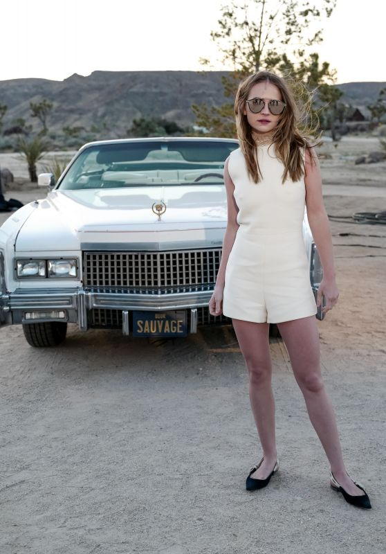 Britt Robertson - Dior Sauvage Party in Pioneertown