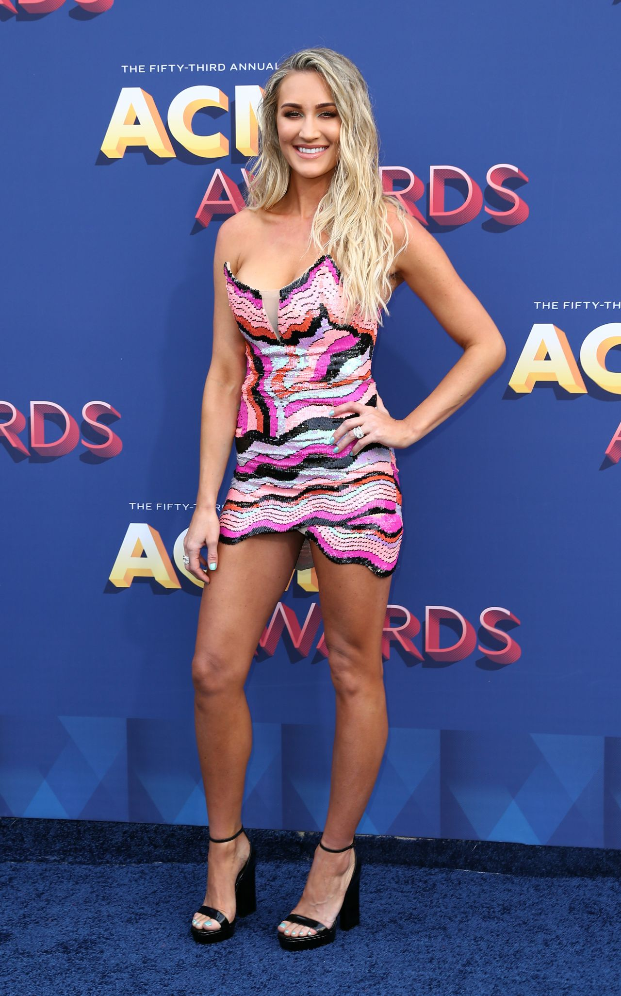Brittany Kerr – 2018 ACM Awards in Las Vegas Brittany Kerr