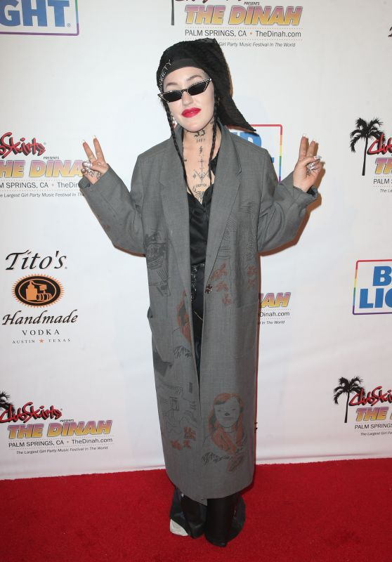 Brooke Candy – Dinah Shore The Hollywood Party in Palm Springs