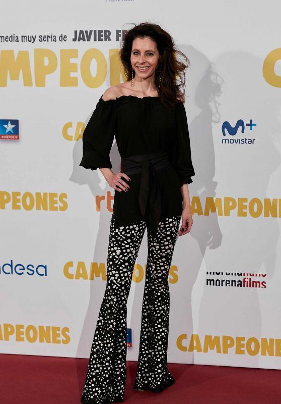 """Candela Font – """"Campeones"""" Premiere in Madrid"""