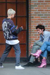 Cara Delevingne Street Style - New York City 04/28/2018