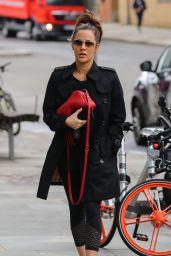 Caroline Flack - Heading To Gym in London 04/03/2018